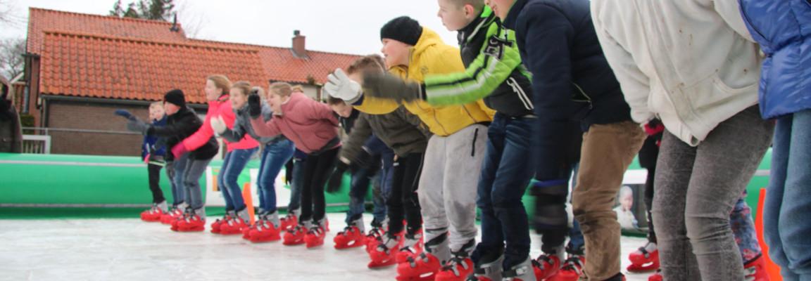 schaatsen voor het goede doel