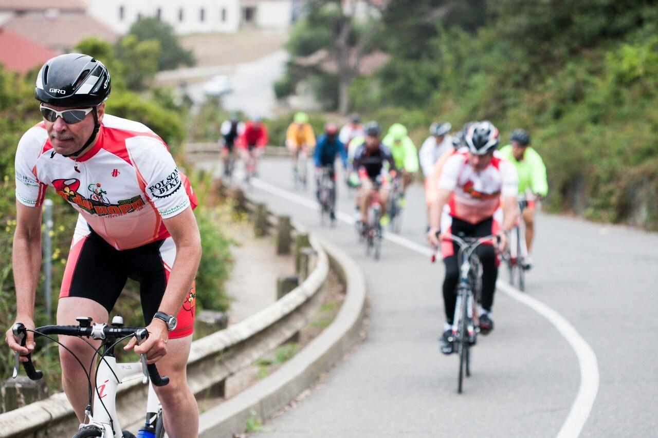 Johan Gankema fietst voor aidswezen