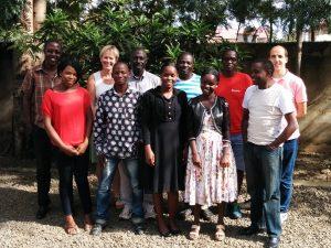 Jannetta Huisman in Kenia