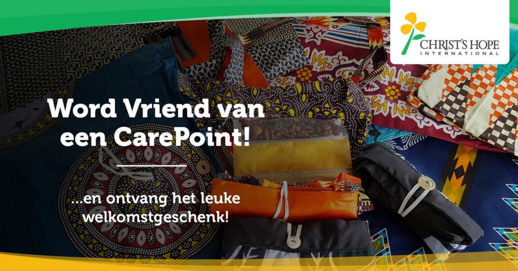 Word Vriend van een CarePoint en ontvang het leuke welkomstgeschenk!